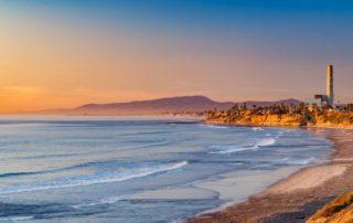 Carlsbad, California Beach
